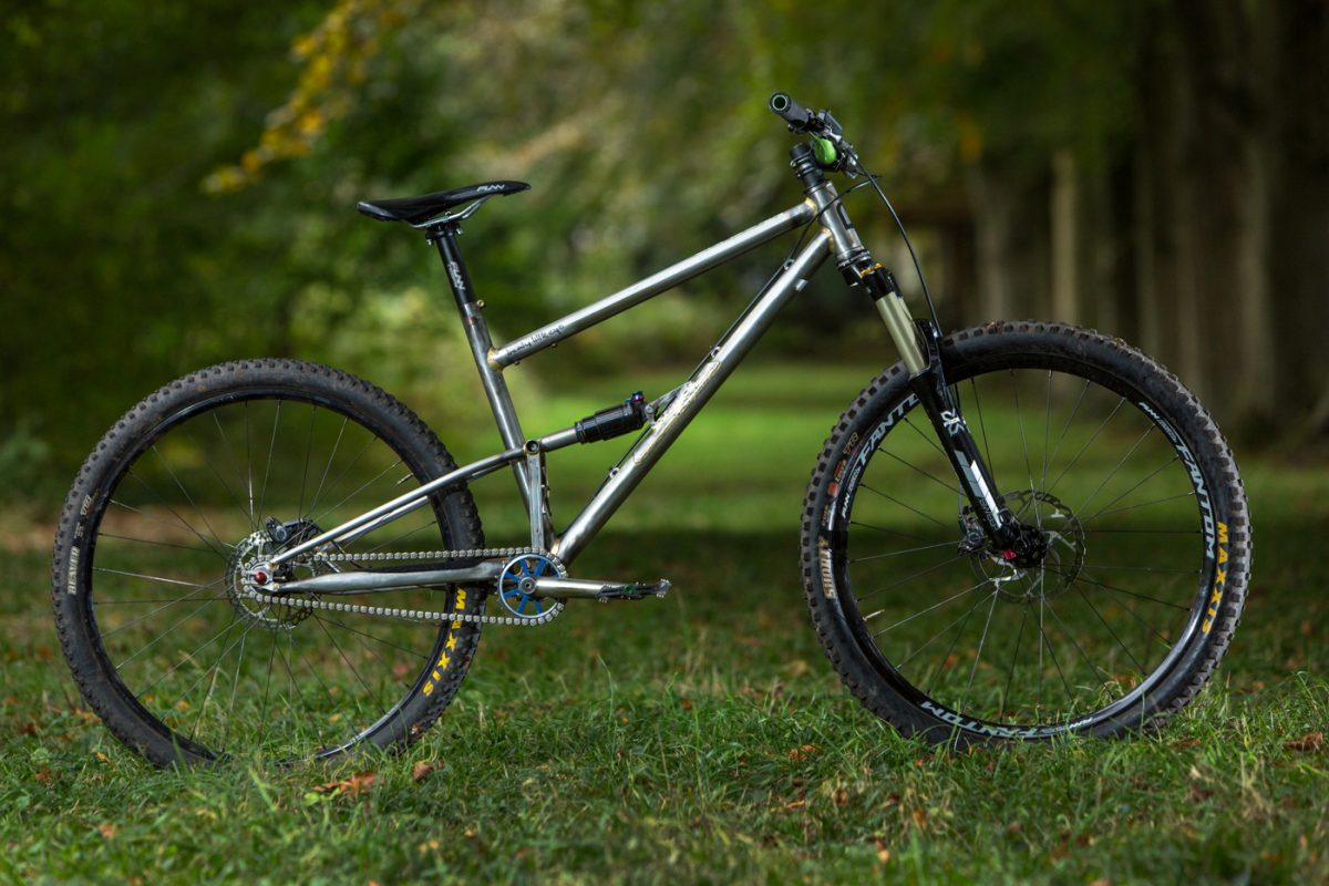Starling Cycles Beady Little Eye singlespeed full suspension